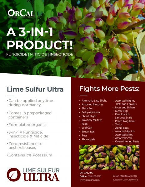 Lime Sulfur Ultra Sell Sheet
